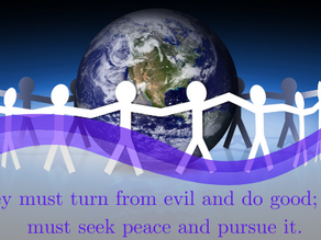 Do good! Seek peace!