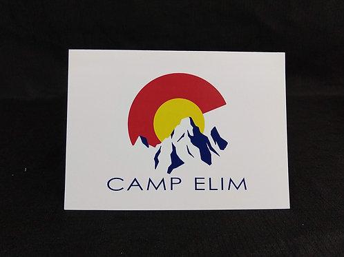 Camp Elim Notecards