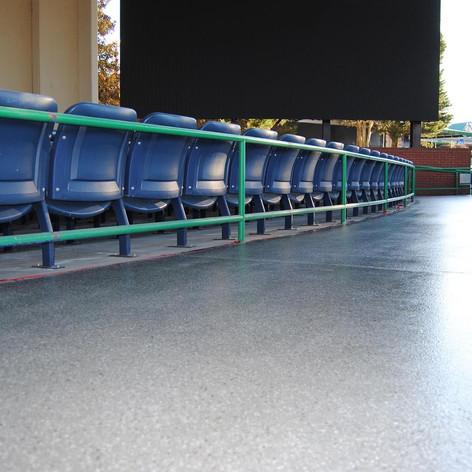 Stadium catwalk