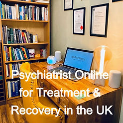 Psychiatrist Online for Treatment & Recovery in UK
