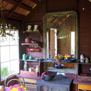 Cabane du jardineier intérieur