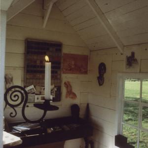 Cabane jardinier atelier peintre