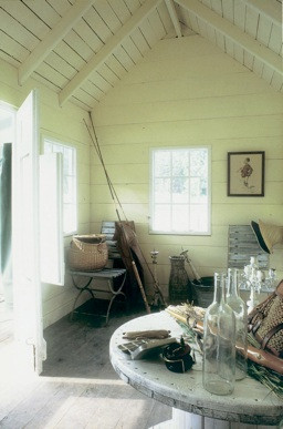 Intérieur cabane du petit pêcheur - décorée