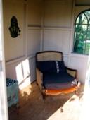 Cabane carrée décor intérieur