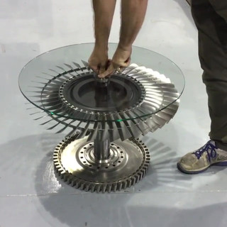 Tornado lifting coffee table