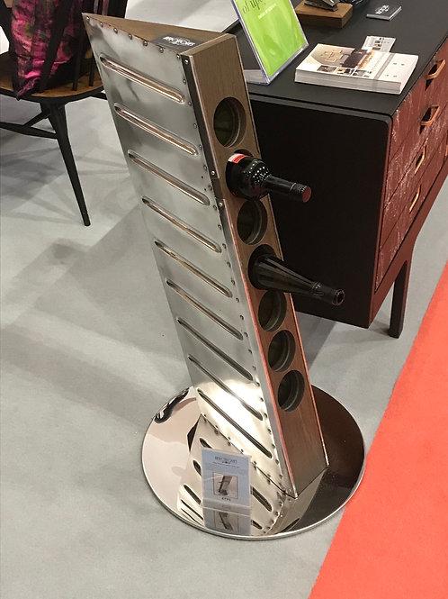 Piper Warrior rudder wine rack