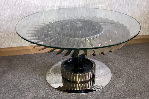 Tornado adjusting coffee table