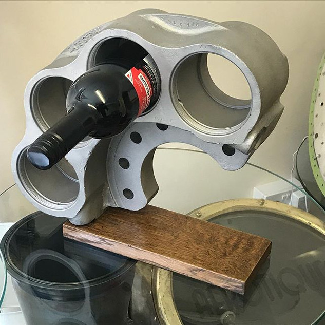 DC3 Dakota  brake calliper wine rack