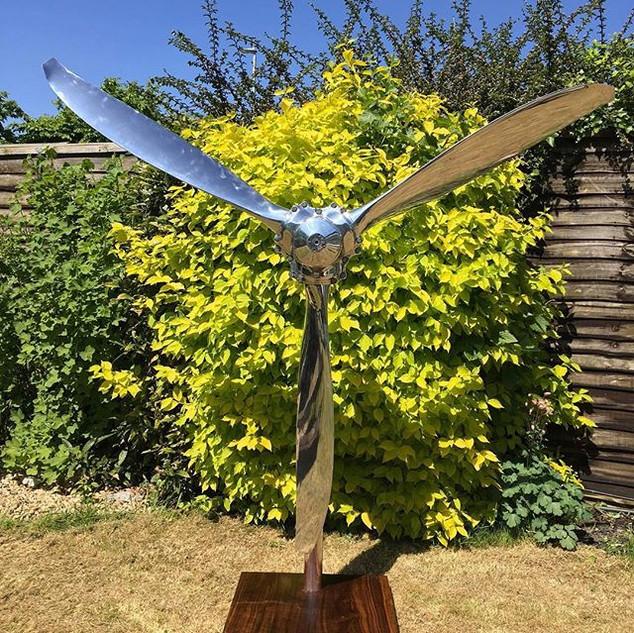 Hartzell propeller sculpture