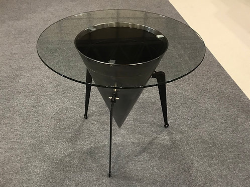Boeing 727 JT8D exhaust cone coffee table