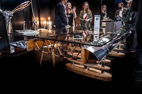Boeing Stearman wing feature table