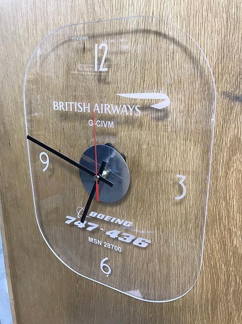 Ex-British Airways Boeing 747 window clock