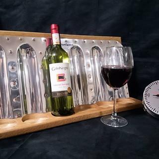 Piper walkway wine rack