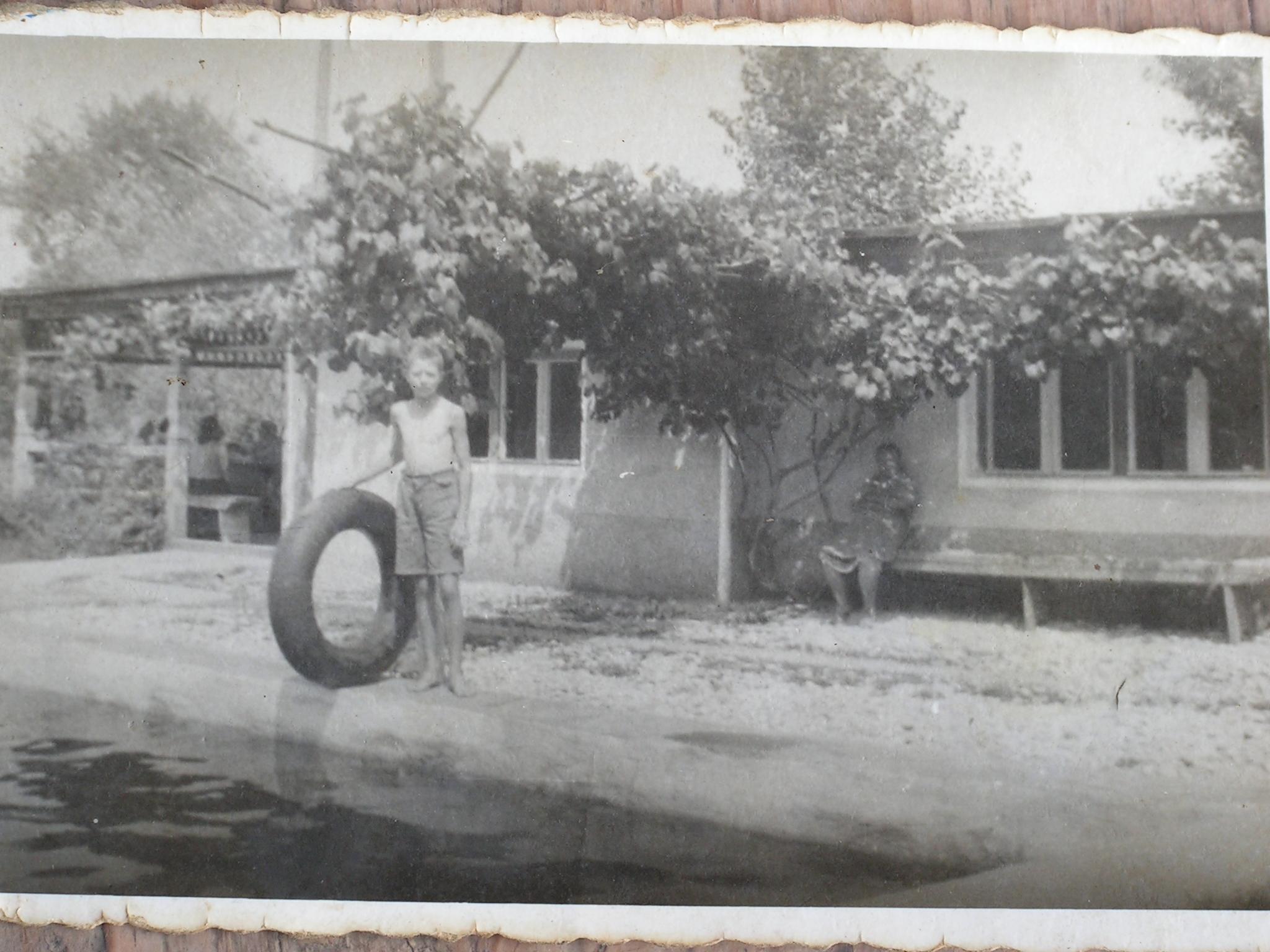 Géza bácsi az '50-es években