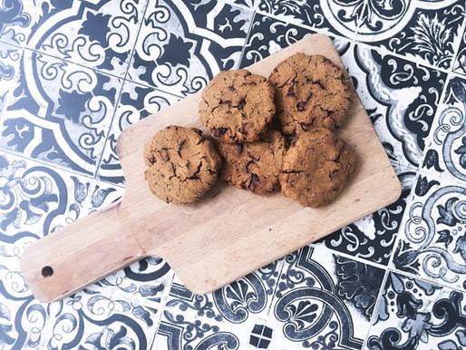Cookies lupin & châtaigne(sans huile et sans gluten)