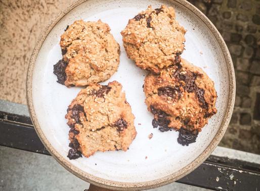 Cookies sarrasin et beurre de cacahuètes vegan & sans gluten