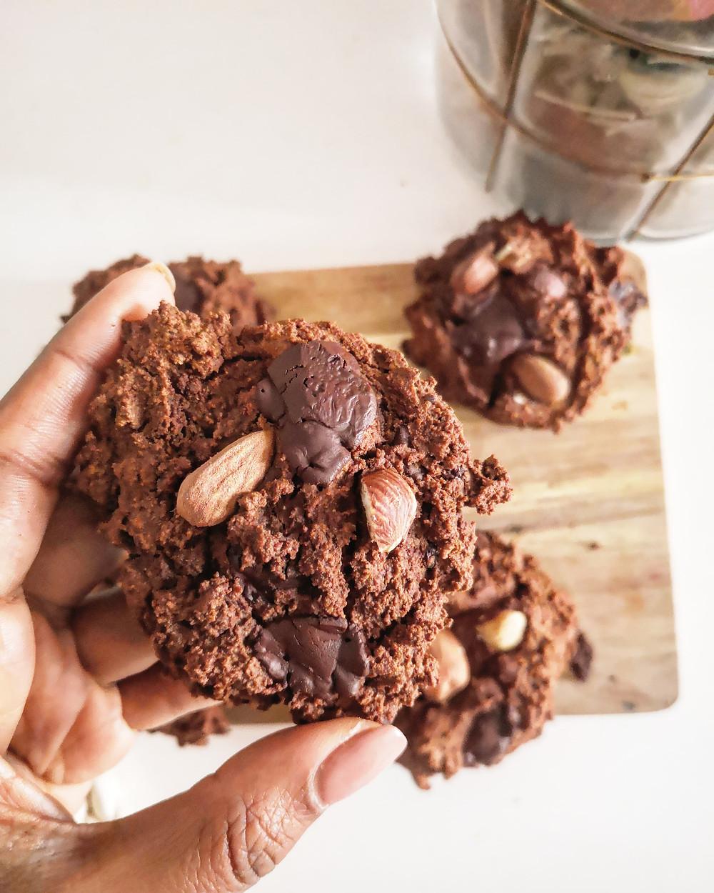 Cookies vegan protéinés sans gluten