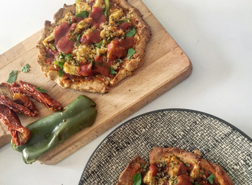 Pizza express protéinée vegan