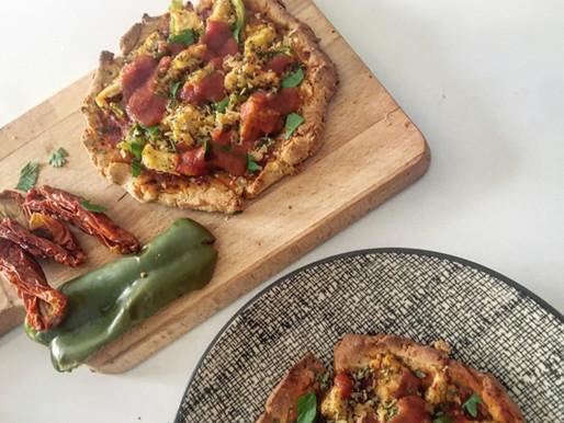 Pizza express protéinée vegan