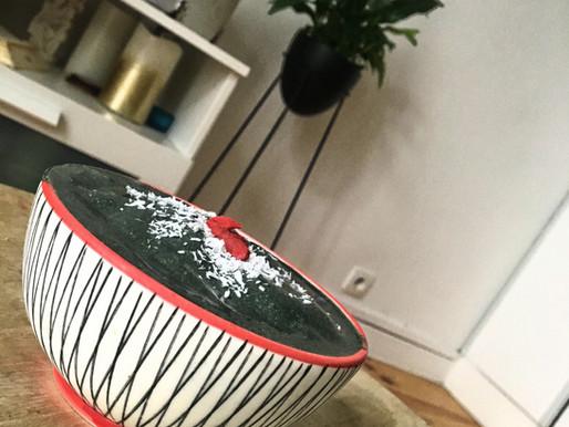 Blackcoconut nicecream – Glace vegan  au charbon végétal activé