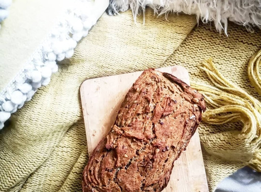 Banana Bread vegan sans gluten, sans matières grasses et sans sucre