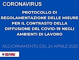 Protocollo COVID remax