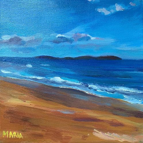 Blue Skies, White Rocks Beach,Portrush