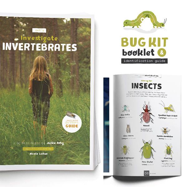 Go WIld Bug Kit Booklet