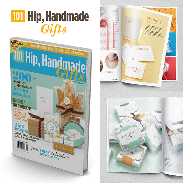 101 Hip, Handmade Gifts