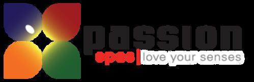 Passion Spas Logo. Love your senses