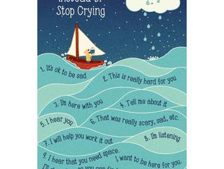 Helping  A Tearful Child