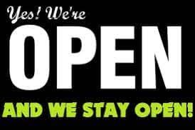 Lockdown 3 --> Wij blijven geopend!