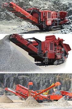 Crusher, Terex Crusher, Jaw Crusher, Cone Crusher, Impactor, Power screen, MPE, MPS