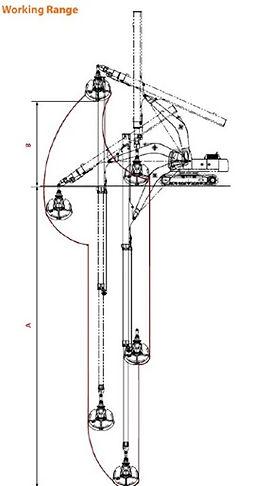 Fine Clamshell Bucket - Telescopic