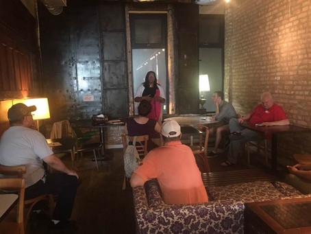 Conyears-Ervin Discusses Legislation at Coffee Meetup