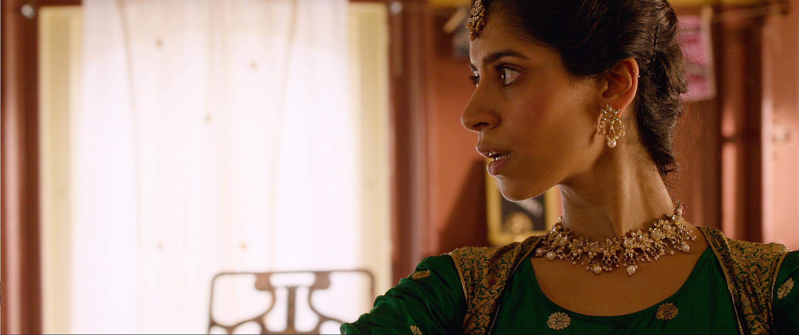 Nikita Tewani as Dua. Enlightenment awaits.