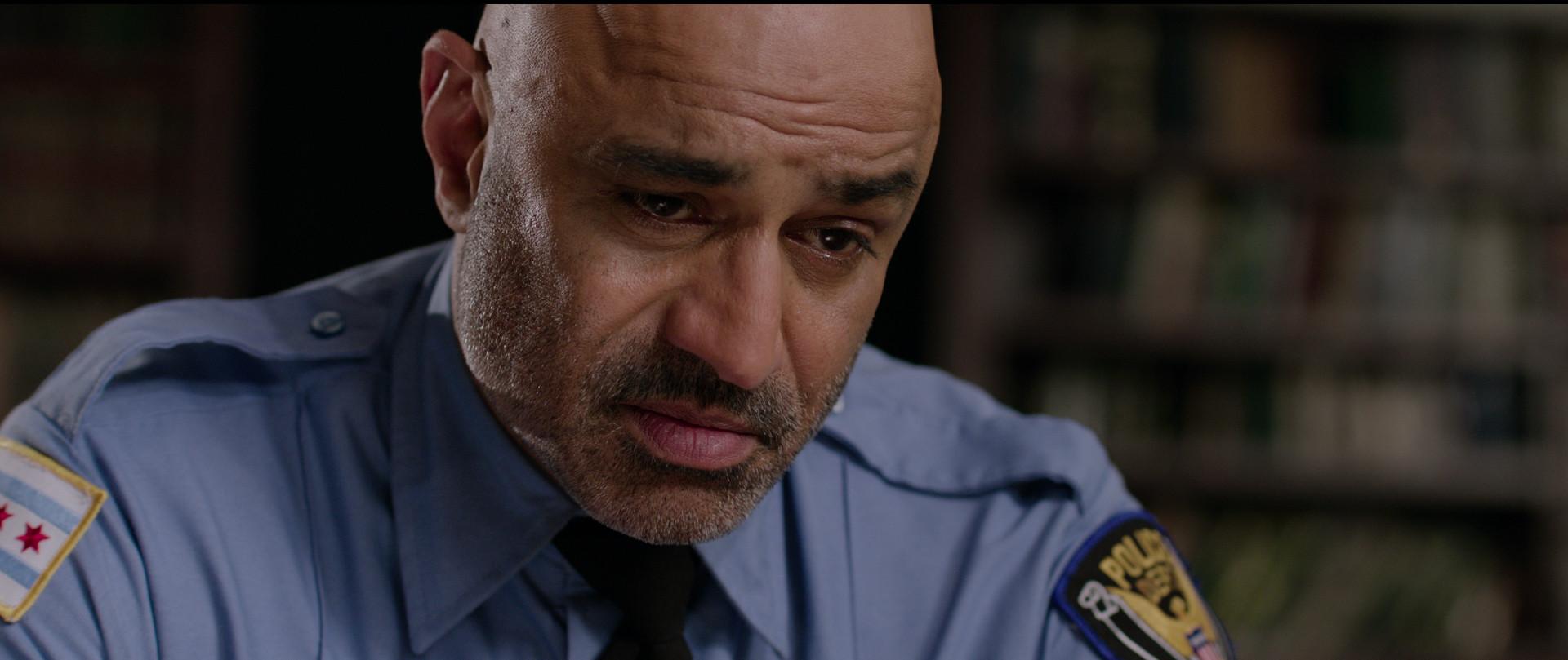 Faran Tahir as Majeed. The inner conflict.