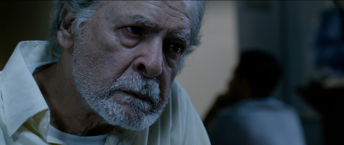 Muhammad Qavi Khan as the very intense Baba.