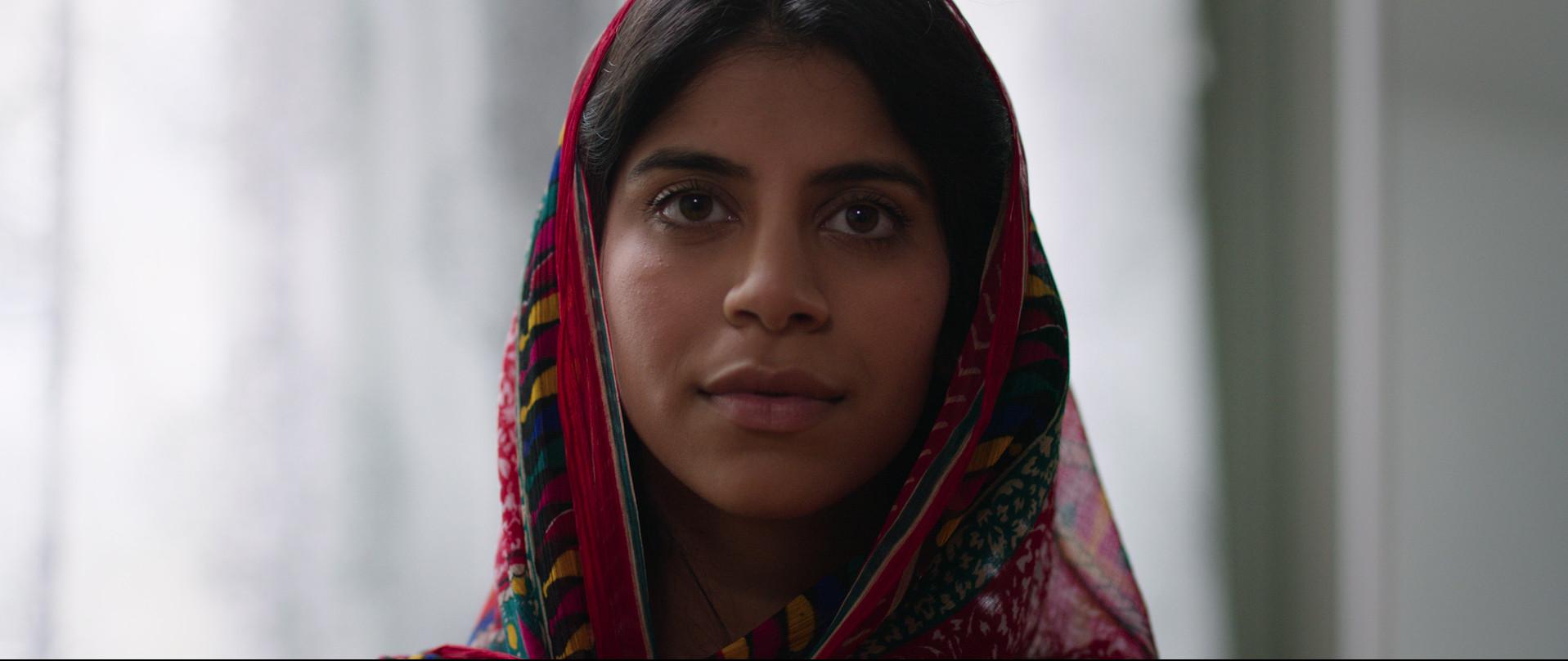 Nikita Tewani as Dua. Identity blends and evolves.