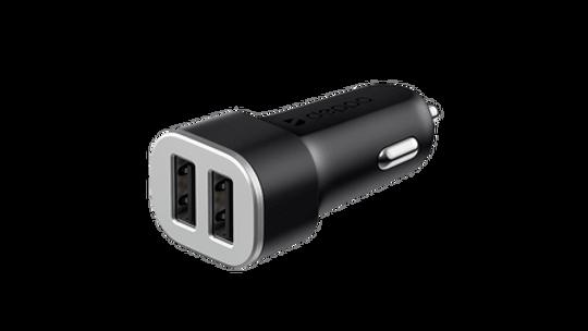 Автомобильное зарядное устройство mophie Dual USB-A