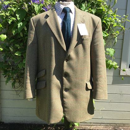 "46""R Brooke Taverner tweed jacket"