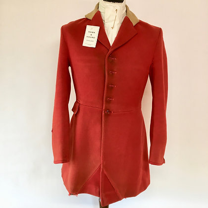 """38"""" Foxley 5 button red coat"""