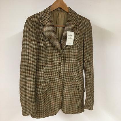 """Ladies vintage tweed coat 34"""""""