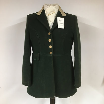 Ladies Green Hunt coat 38""