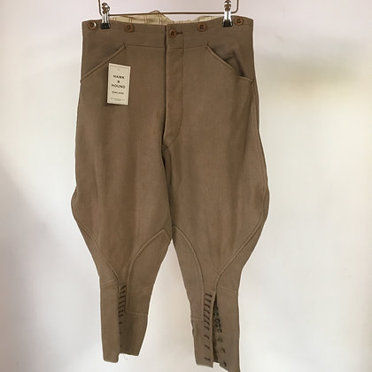 Vintage Bedford Cord Breeches 30""