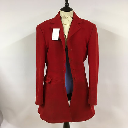 """5 Button red coat 38"""""""