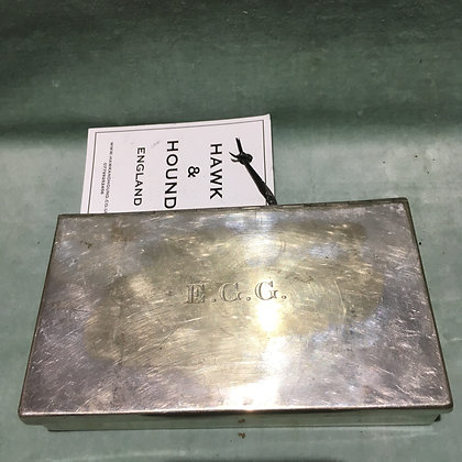 James Dixon Silver plated sandwich tin