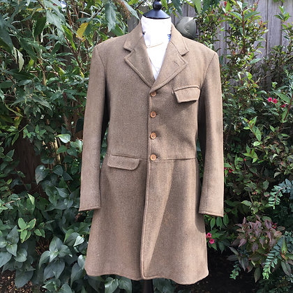 Men's Vintage Bespoke Made 4 Button Keeper's Tweed 38/40""