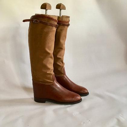 Vintage Newmarket Boots Size 4.5 - 5
