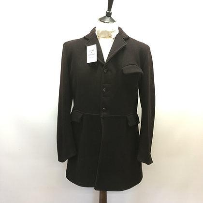 """40"""" Matlock & Brown Black Frock Coat"""